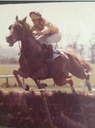 Gillen pictured in his younger days as a jockey.