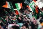 Ireland supporters.