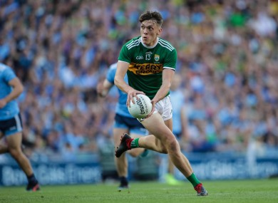 The forward in action during last year's All-Ireland final replay against Dublin.