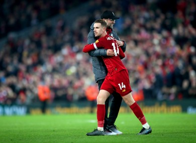 Klopp and Henderson: can they lead Liverpool to the promised land?