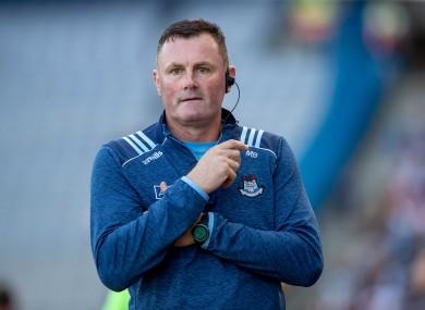 Dublin boss Mick Bohan.