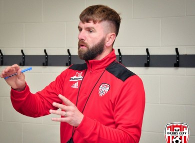Derry City's new Technical Director: Paddy McCourt.