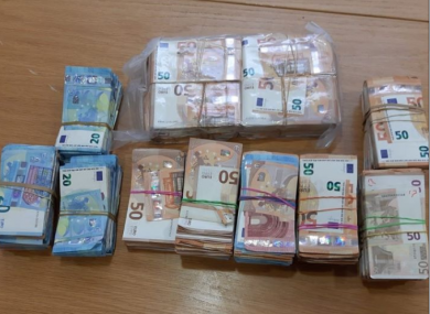 Gardaí have recovered €700,000 in cash follow a number of searches.