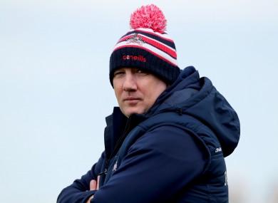 Cork football manager Ronan McCarthy.