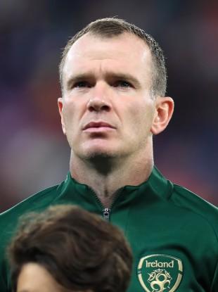 Glenn Whelan pictured prior to Ireland's Euro 2020 qualifier away to Switzerland in October.