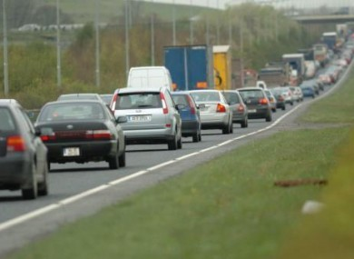 The southbound lane of the M50. (File photo)