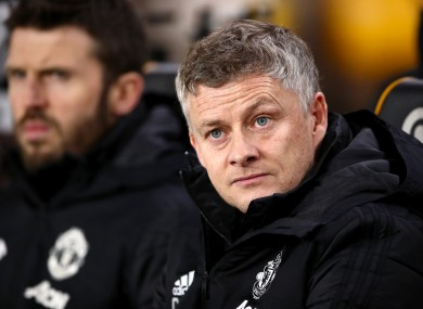 Ole Gunnar Solskjaer has come under renewed pressure following last night's defeat to Man City.