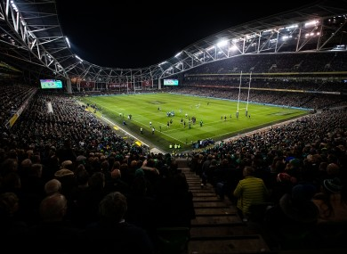 No fever in the Aviva: Italy game called off as a precaution.