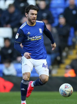 Scott Hogan now has two goals in two games for Birmingham.