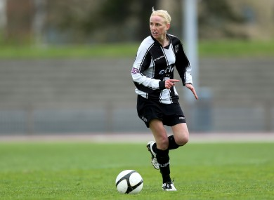 Caroline Thorpe pictured playing for Raheny in 2013.