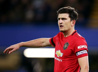 Harry Maguire was fortunate not to be sent off, before scoring the second goal.