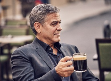 Brand ambassador George Clooney.