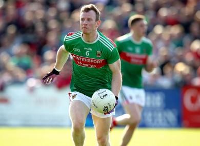 Mayo defender Colm Boyle.