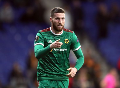 Matt Doherty was on the mark as Wolves secured a place in the next round of the Europa League despite a 3-2 second-leg loss to Espanyol.