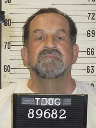 Nicholas Sutton in a photo provided by the Tennessee Department of Correction.
