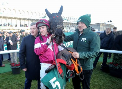 Jack Kennedy had surgery on a leg injury after being unseated in the Grade A Handicap Chase at Leopardstown.