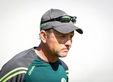 Ireland head coach Graham Ford.