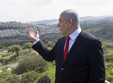 Benjamin Netanyahu announces a new neighborhood in the Israeli settlement Har Homa