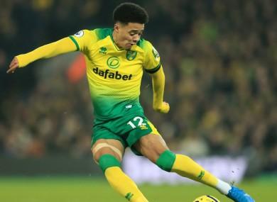 Norwich left-back Jamal Lewis