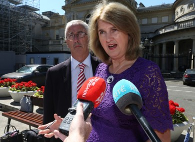 Joan Burton has lost her seat in Dublin West.