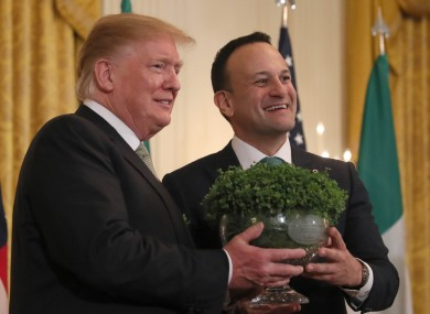 Leo Varadkar will be in the States for just five days for the St Patrick's Day celebrations.