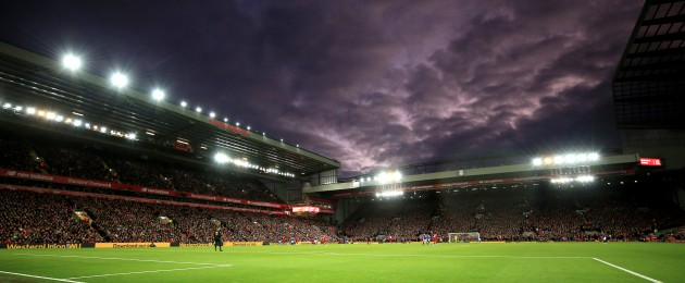 Anfield awaits.