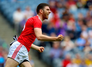 Luke Connolly (file photo) hit the net twice for Cork tonight.