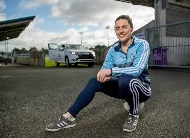 Dublin ladies footballer Lyndsey Davey.