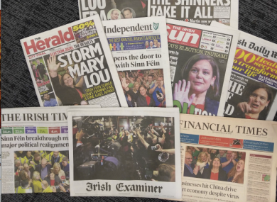 There's a common theme across the papers this morning...