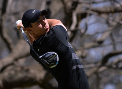 McIlroy: 65 sets the pace.