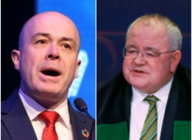 Independent TD Denis Naughten and Fianna Fáil's Seán Ó Feargháil are both throwing their hat in the ring for job as the next Ceann Comhairle.