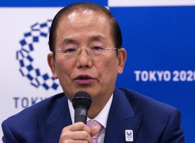 Toshiro Muto, Tokyo 2020 chief executive (file photo).