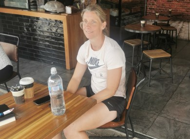 Cora Staunton reflects on her Australian adventure in a Sydney cafe this week.