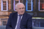 Bertie Ahern speaking to RTE's The Week in Politics