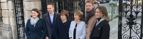 Social Democrats rule out going into a coalition government with Fianna Fáil and Fine Gael