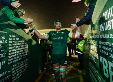 Dillane is back in a Connacht shirt this weekend.