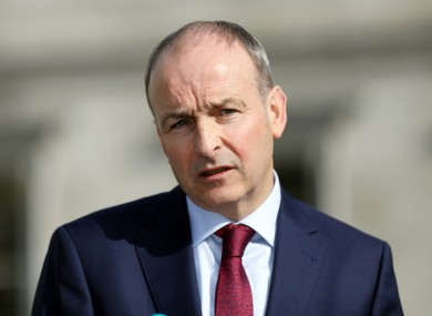 Micheál Martin says more information about cases should be released to the public.