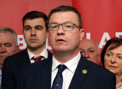Alan Kelly is standing to be Labour leader.