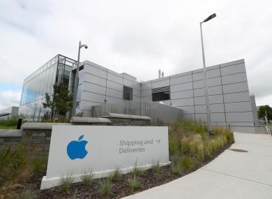 File photo. Apple European headquarters in Cork.