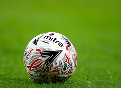 A file pic of a football.