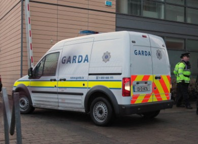 The two men made no reply when charged by gardaí. (File photo)