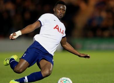 Victor Wanyama at Tottenham.