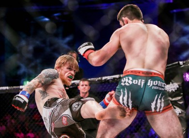 Decky Dalton (left) will make a swift return to action to take on Paddy Pimblett at Cage Warriors 113.