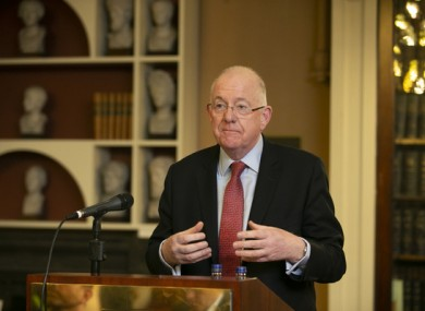 File photo. Minister for Justice Charlie Flanagan