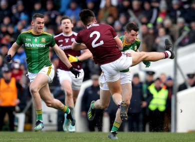 Meath suffered a two-point defeat to Galway on Sunday.