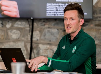 Olympic Federation of Ireland, Deputy Chef de Mission, Gavin Noble