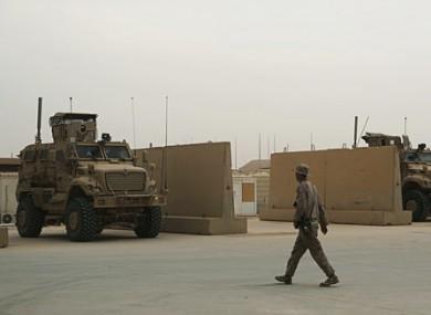 File photo of Iraq airbase.