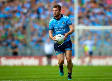 Jack McCaffrey in action for the Dubs.