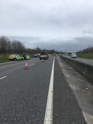 The checkpoint on the M8.
