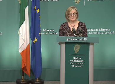 Liz Canavan, Assistant Secretary, Department of the Taoiseach.